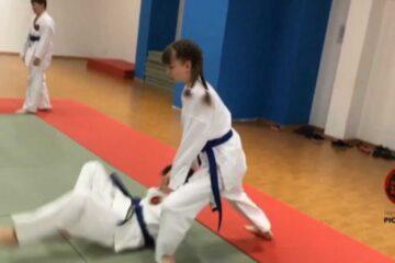 Тренировка в клубе айкидо Рютенкай | Aikido | 合気道
